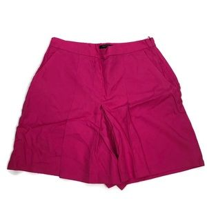 RW&Co. Dressy Pink Pleated 100% Lyocell Short NWOT